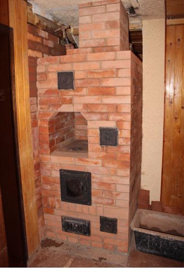 сложить печь на даче или в частном доме